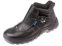 Ботинки сварщика ТОФФ стальной подносок ПУ-ТПУ. Уменьшенная фотография.