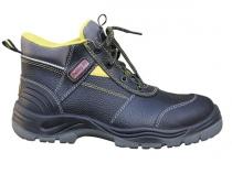 Ботинки рабочие кожаные РАББЕР демисезонные. Уменьшенная фотография.
