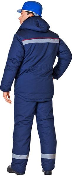 Куртка АЛТАЙ синего цвета СОП кокетка