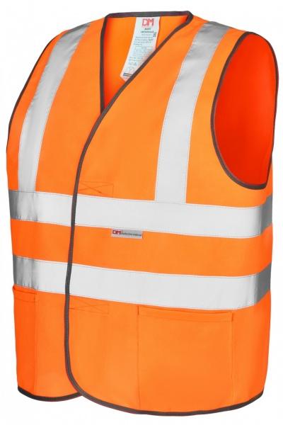 Жилет сигнальный 4-СОП оранжевый тип-8 липучка