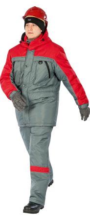 Модель костюма Драйв серого цвета. Уменьшенная фотография.