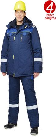 Зимний костюм для ИТР Бостон. Уменьшенная фотография.