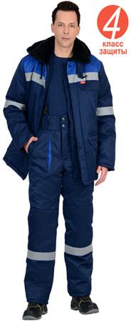 Костюм СЕВЕР-1 зимний куртка брюки . Уменьшенная фотография.