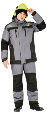 Зимняя куртка УРАН. Уменьшенная фотография.