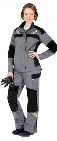 Женская куртка УРАН. Уменьшенная фотография.