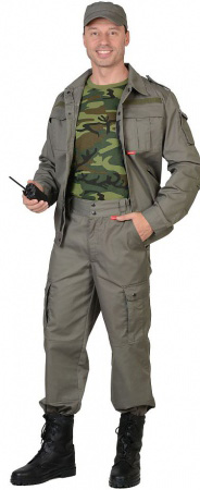 "Костюм ""СИРИУС-Тайфун"" куртка, брюки (тк.Rodos ) олива. Уменьшенная фотография."