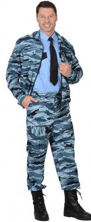 """Костюм """"СИРИУС-Фрегат"""" куртка, брюки (тк. Грета 210) КМФ Серый вихрь. Уменьшенная фотография."""