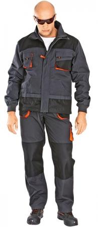 Куртка рабочая мужская ЭМЕРТОН. Уменьшенная фотография.