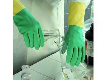 Перчатки Ansell БАЙ КОЛОР покрытие Латекс с Неопреном. Уменьшенная фотография.