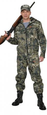 """Костюм """"Рыболов СТ"""" куртка, п/к (тк.Кроун 230) КМФ Степь. Уменьшенная фотография."""