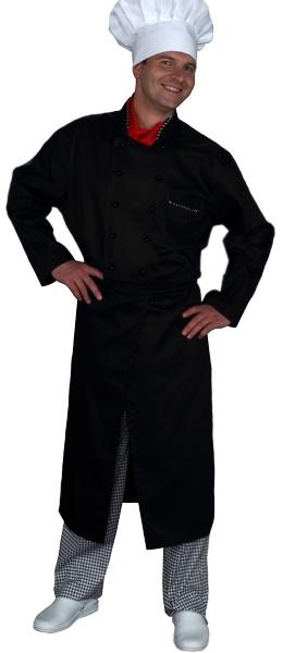 Куртка поварская черная мод.0297d