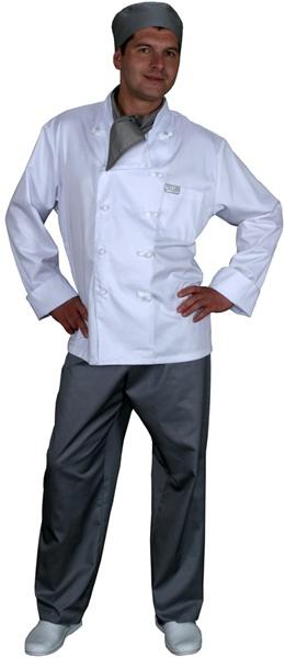 Куртка поварская белая мод.0300w