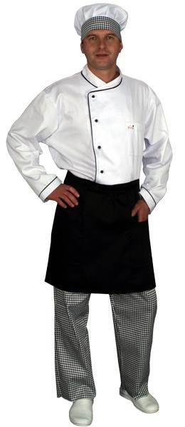 Куртка поварская белая мод.0301w-d