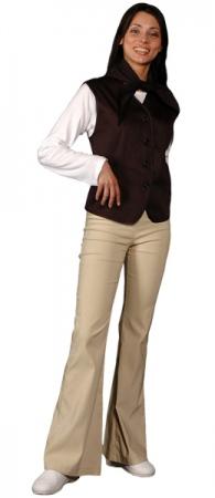 Жилет официанта продавца женский мод.056g. Уменьшенная фотография.