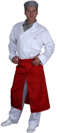 Фартук официанта продавца удлиненный мод.025r. Уменьшенная фотография.