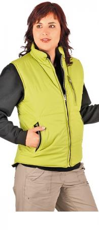 Жилет из флиса Леди Роузвиль зеленый. Уменьшенная фотография.