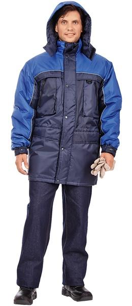 Утепленная куртка для ИТР ДРАЙВ синего цвета