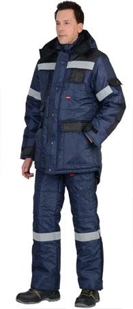 Костюм рабочий утепленный Беркут. Уменьшенная фотография.