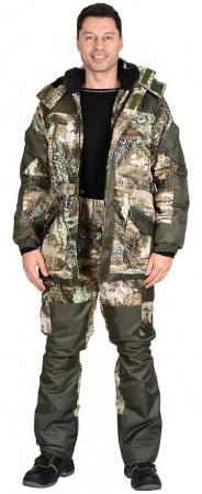 "Костюм ""ГОРКА"" зимний: куртка дл., брюки (тк.CROWN-230) КМФ. Уменьшенная фотография."
