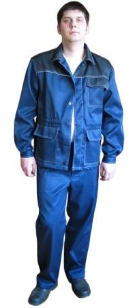 Костюм Мастер  куртка брюки. Уменьшенная фотография.