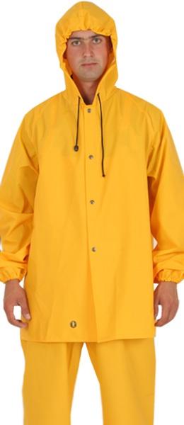 Влагозащитная куртка 3/4 PROS-101 ПВХ - 0,5 мм. (!)