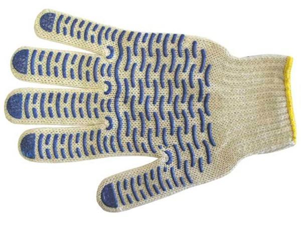 Купить Перчатки трикотажные ПВХ Эконом 10 класс