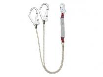 Двойной капроновый строп с амортизатором ABS212. Уменьшенная фотография.