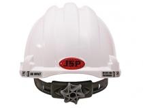 Каска белая повышенной комфортности JSP МК8 . Уменьшенная фотография.