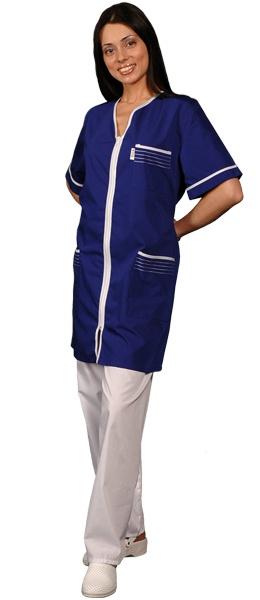 Халат медицинский женский темно-синий