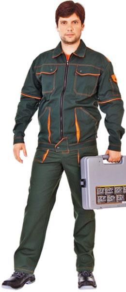 Костюм БРИГАДА куртка и брюки 100% хб