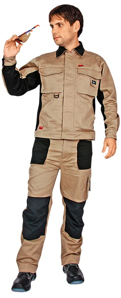 Куртка Спец Авангард бежевая с черным