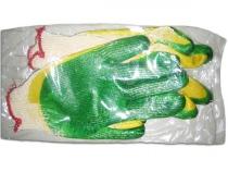 Перчатки с 2-ым латексным покрытием в инд. упак. . Уменьшенная фотография.