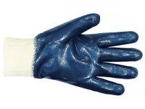 Перчатки Нитрил  полный облив манжет  подкладка  . Уменьшенная фотография.