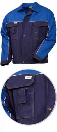 Летняя рабочая куртка SWW 4395-14-16 100% хлопок. Уменьшенная фотография.