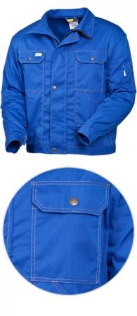 Куртка рабочая SWW модель 471-12 из 100% хлопка. Уменьшенная фотография.