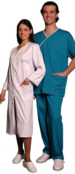 Костюм хирурга массажиста синий
