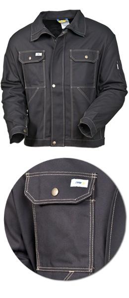 Куртка мужская SWW модель 471-90 Черная из хлопка