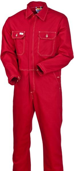 Красный рабочий комбинезон х/б 100% хлопок 830-FAS-83
