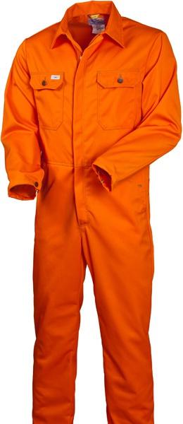 Комбинезон оранжевый из хлопка 830-FAS-77 SWW