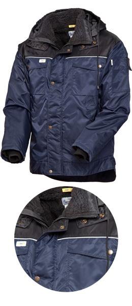 Куртка зимняя SWW  419 световозвращающий кант