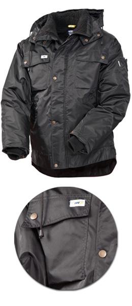 Куртка зимняя SWW модель 428T-90 цвет черный
