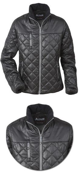 Женская легкая стеганная куртка Шелл