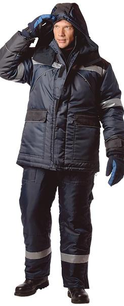 Костюм МОНБЛАН-ЛЮКС для работы зимой с СОП