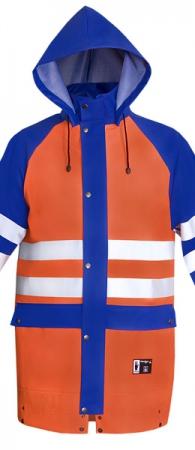 Куртка сигнальная влагозащитная PROS. Уменьшенная фотография.
