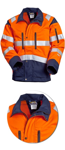 Куртка SWW Дорожник 4676Т-15/75 сигнальная