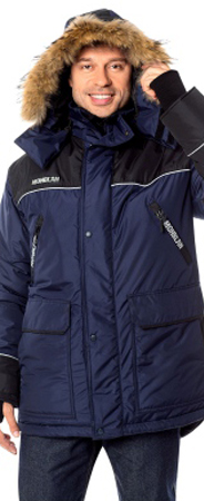 Куртка зимняя МОНБЛАН Холлофайбер. Уменьшенная фотография.