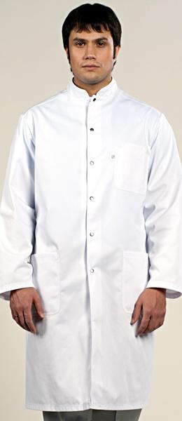 Оригинальный медицинский халат на кнопках 1-573
