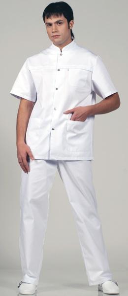 Мужской мед костюм 536 Персонале цвет белый