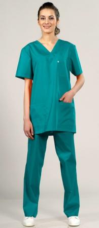 Костюм хирурга женский модель 570 Классика. Уменьшенная фотография.