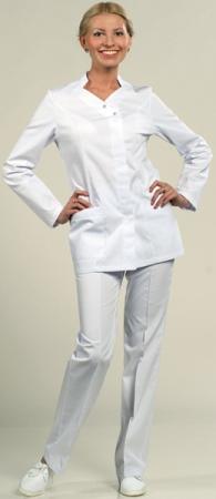 8-877-W Оригинальная модель белого костюма. Уменьшенная фотография.